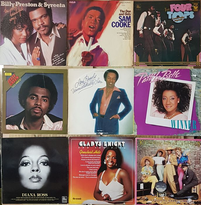 Diana Ross, Sam Cooke, Various Artists/Bands in Soul - Diverse Künstler - Diverse Titel - LP Album - 1966/1986