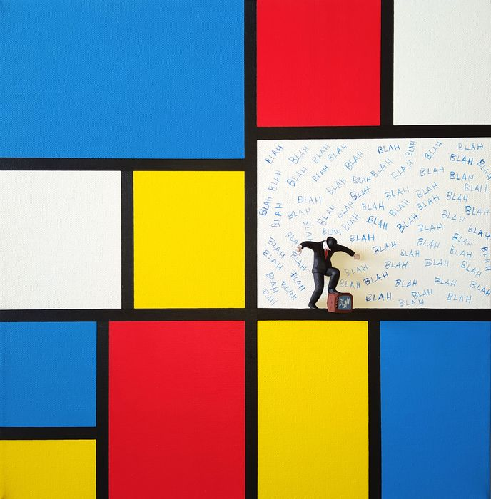 Dario Assisi - Magritte in the Mondrian world - End of broadcast