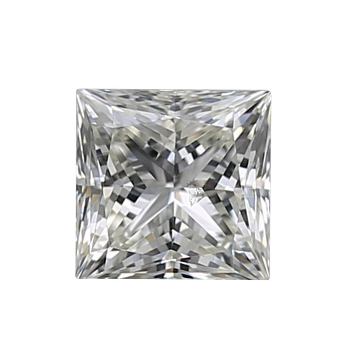 1 pcs Diamant - 0.50 ct - Princesse - I, ----NO RESERVE PRICE---- - SI1
