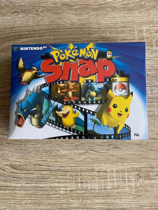 Nintendo - Pokemon Snap nintendo 64 New!! Sealed in box! - German box / game