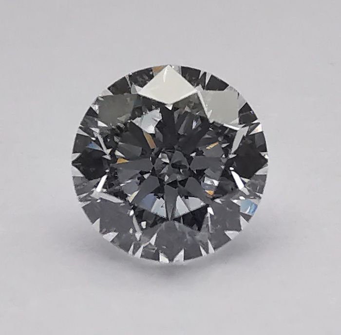 1 pcs Diamante - 0.80 ct - Brillante - D (incoloro) - IF (Inmaculado)