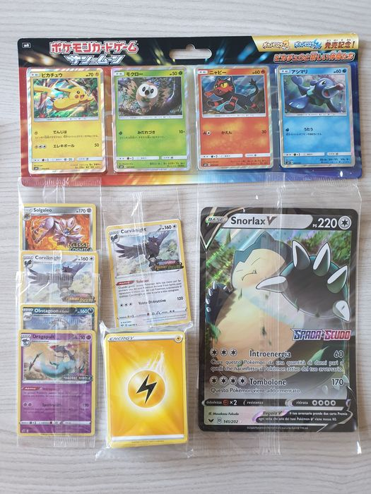 Pokemon - Pokémon - Trading card Materiale Pokemon SEALED, Carte JUMBO, Carte GX ed EX - 2017