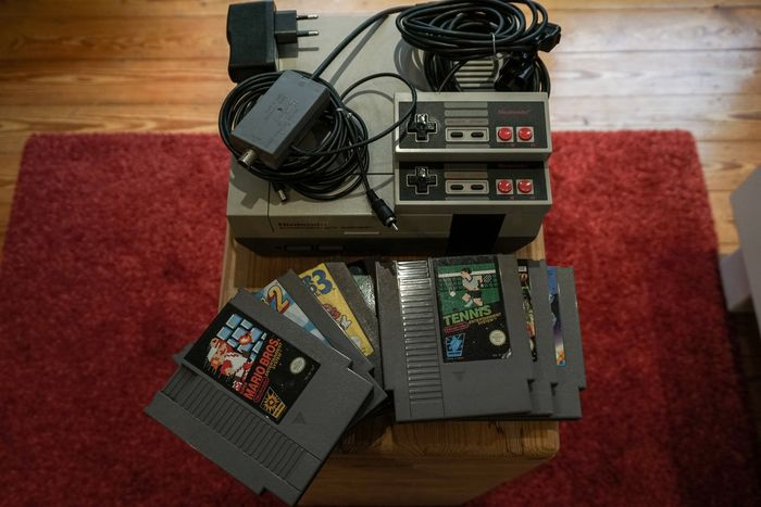 1 Nintendo Nes - Console with games (7)