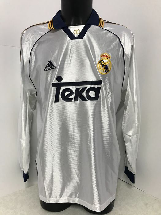 Real Madrid C.F. - Spanish Football League - 1999 - Jersey