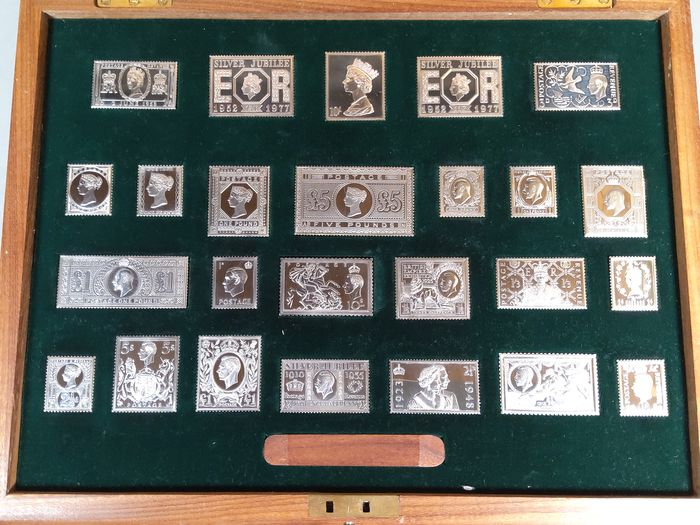 Grande Bretagne - The Stamps of Royalty
