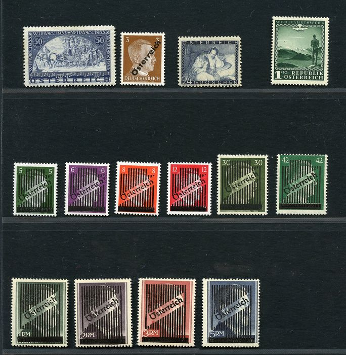 Austria 1930/1945 - Several sets of the period