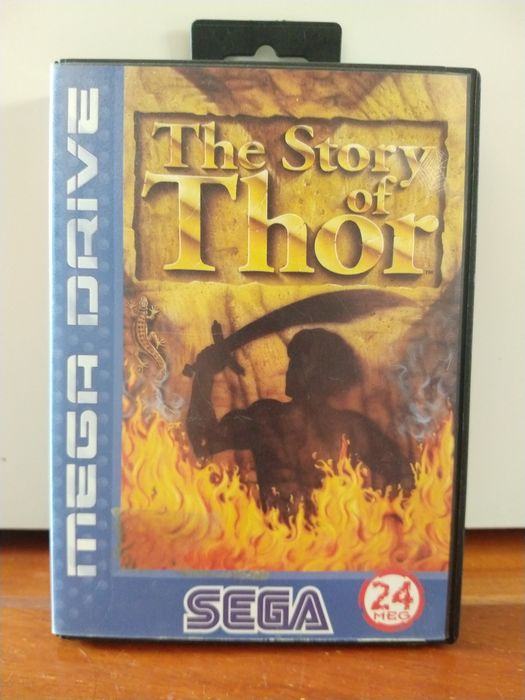 Sega - megadrive the. story of Thor