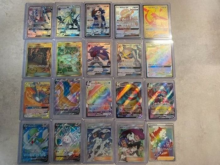 Pokemon Cards - Hidden Fates, Champions Path, Japanese Event, Shiny Enlgish & Japanese - Pokemon-kaarten in harde hoes