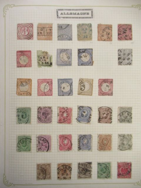 Europe - Collection of stamps VOL 1