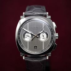 Chaumet - Dandy Chronograph Grey - W11291-49A - Hombre - New