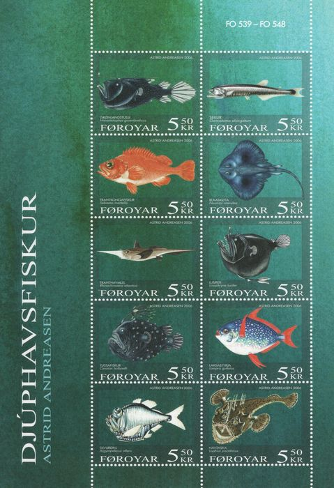 Greenland - Faroe Islands - Collection on sheets - 1935/2007