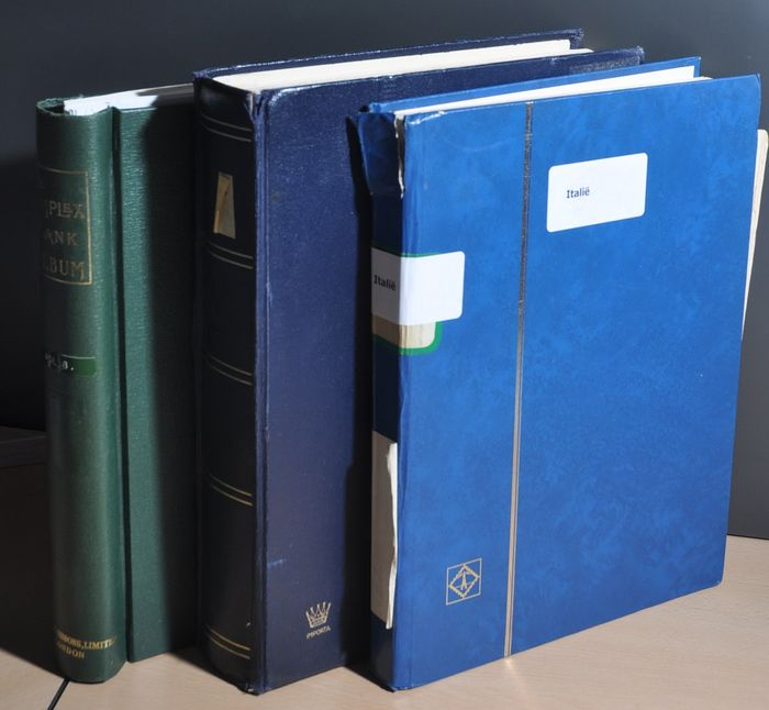 Italy - Batch in stock books and in an album