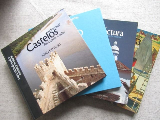Portugal 1988/1990 - 4 themed books with stamps