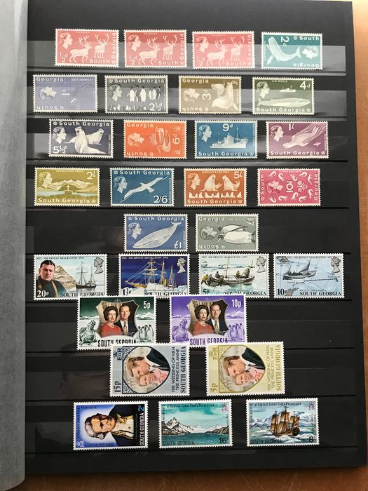 South Georgia and the South Sandwich Islands 1963/1995