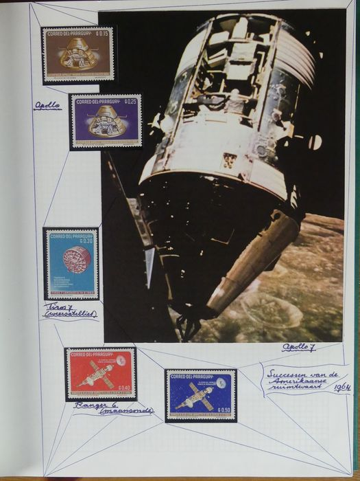 Aerospace, Space - Collection in three albums