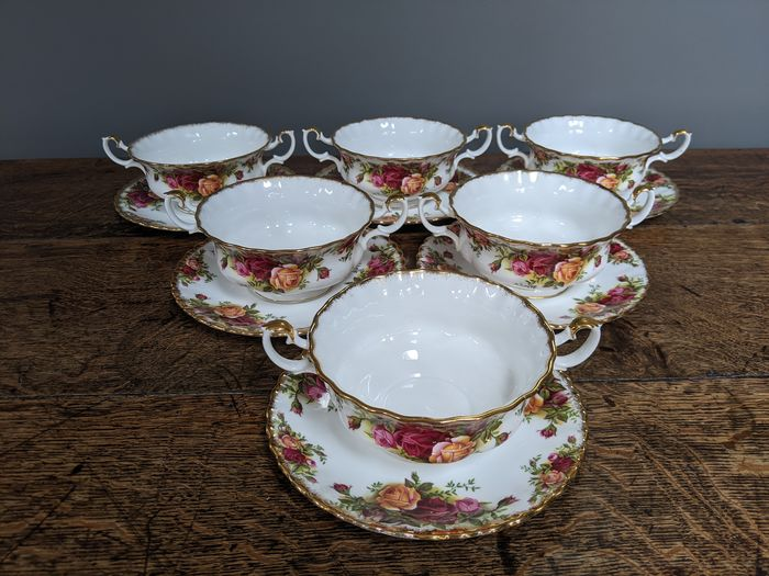Royal Albert - Platos soperos (12) - Porcelana