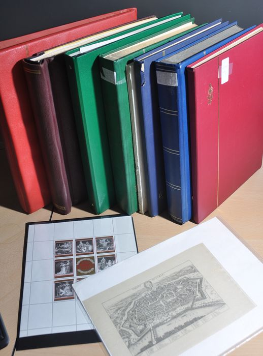 Austria - Batch in albums and various stock books