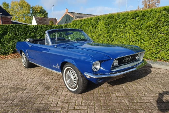 Ford - Mustang Convertible V8 automatic - 1968