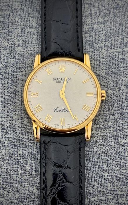 Rolex - Cellini 18K Yelllow Gold Anniversary Dial - 5116 - Men - 2000-2010