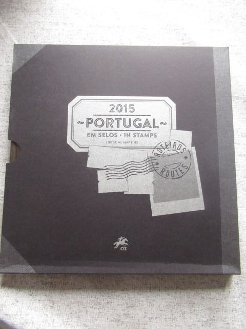 Portugal 2015 - Book of stamps from the full year.