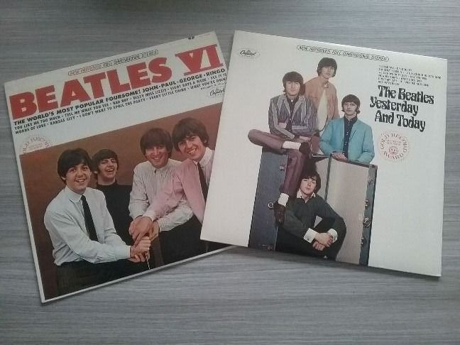 Beatles - Beatles VI  /  Yesterday & Today (USA) - Multiple titles - LP's - 1965/1966