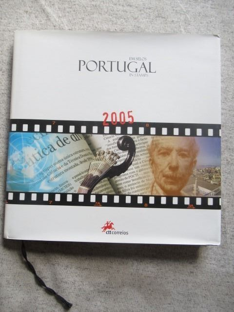 Portugal 2005 - Book of stamps of the full year.