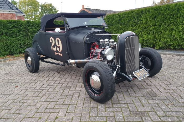 Ford USA - Model A | HOT ROD - 1929