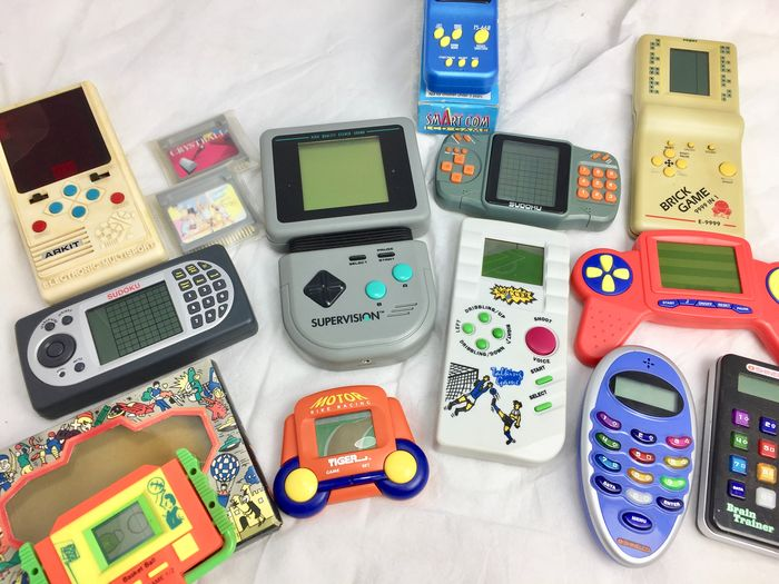 12 Shinelco - Arkit - Supervision - Tiger - Retro Hand Held Games