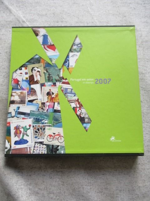 Portugal 2007 - Book of stamps of the full year.