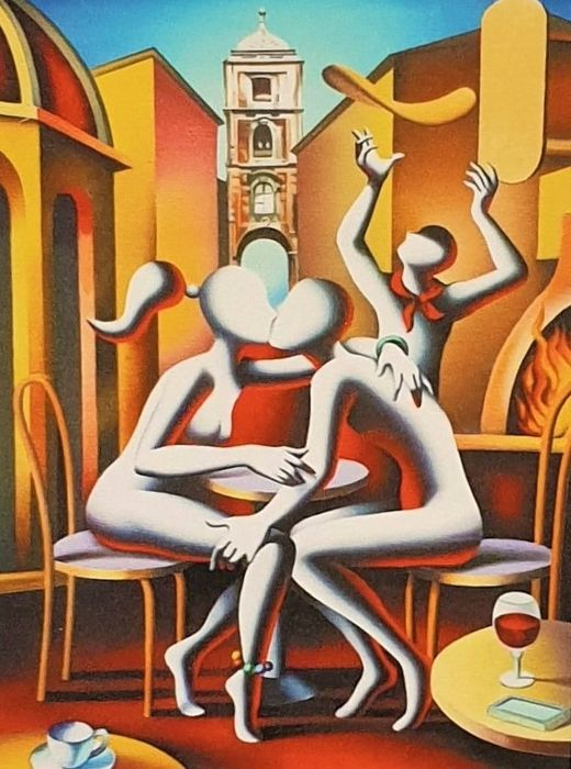 Mark Kostabi (1960) - The best is yet to come