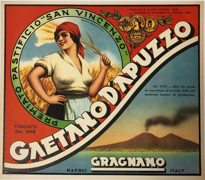 Anonymous - GAETANO D'APUZZO (linen backed) - 1920 - Anni 1920