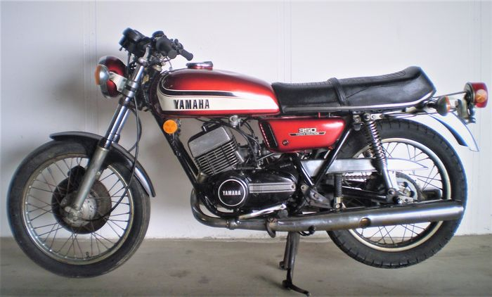 Yamaha - RD 350 A Torque Induction - 1974
