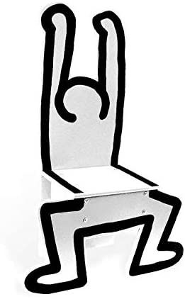 Keith Haring & Vilac - Childrens Chair / Decorational Object White by Vilac