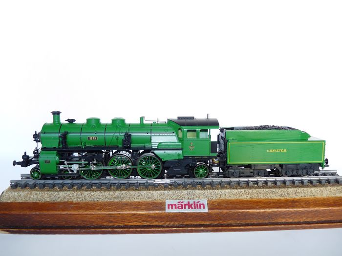 Image 2 of Märklin H0 - 33182 - Steam locomotive with tender - S 3/6 - K.Bay.Sts.B