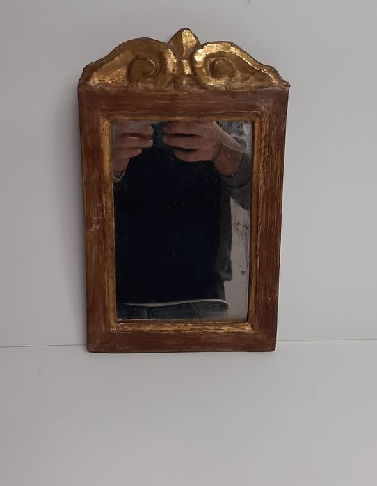 Wall mirror - Gold, Lacquer, Wood - 18th century