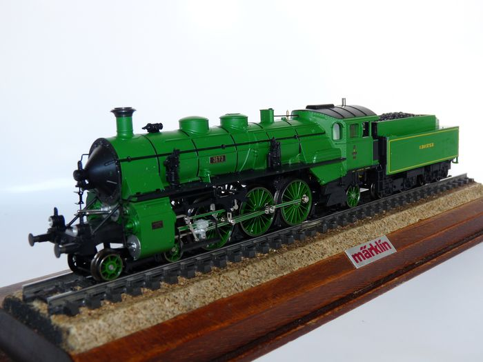 Preview of the first image of Märklin H0 - 33182 - Steam locomotive with tender - S 3/6 - K.Bay.Sts.B.