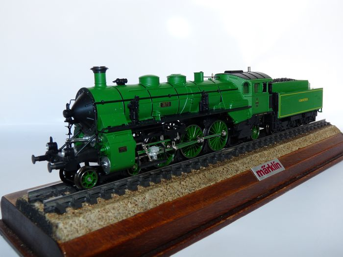 Image 3 of Märklin H0 - 33182 - Steam locomotive with tender - S 3/6 - K.Bay.Sts.B