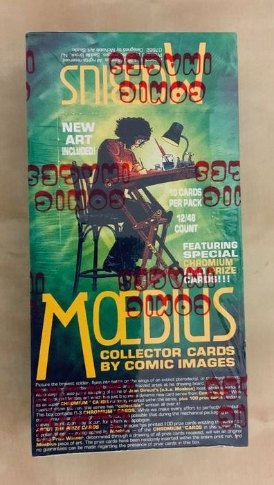 Moebius - 480x Collector cards Comic Images - (1993)
