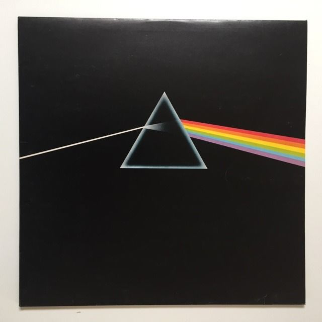 Pink Floyd - The Dark Side Of The Moon [Empty Prism Labels, UK, 1st Pressing] - LP Album - 1973