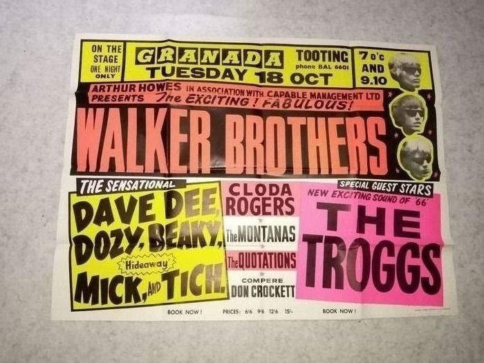 Anonymous - Walker Brothers, The Troggs - 1967