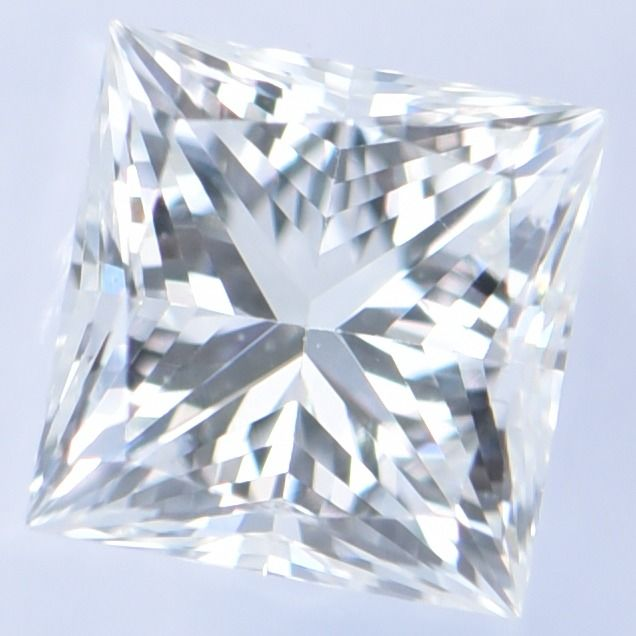 1 pcs Diamond - 0.38 ct - Princess - G - VVS 2     IGI Antwerp Certified