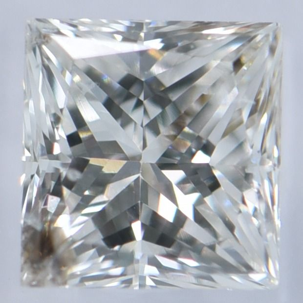 1 pcs Diamond - 0.39 ct - Princess - G - SI 2     IGI Antwerp Certified