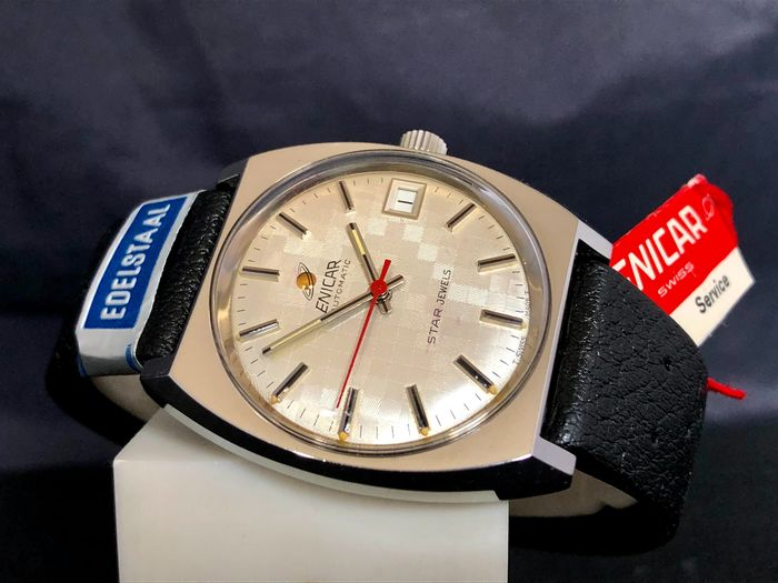 """Enicar - Star Jewels Automatic - New Old Stock - Ref. 165-39-18 - """"NO RESERVE PRICE"""" - Men - 1970-1979"""
