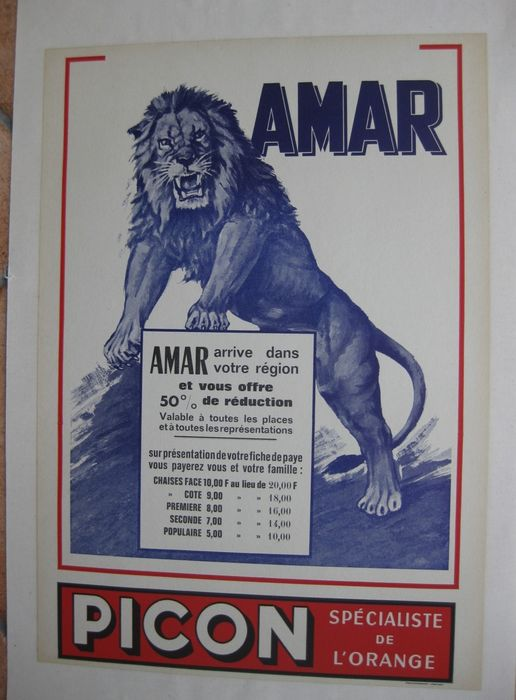 Anonymous - Cirque AMAR - Anni '50