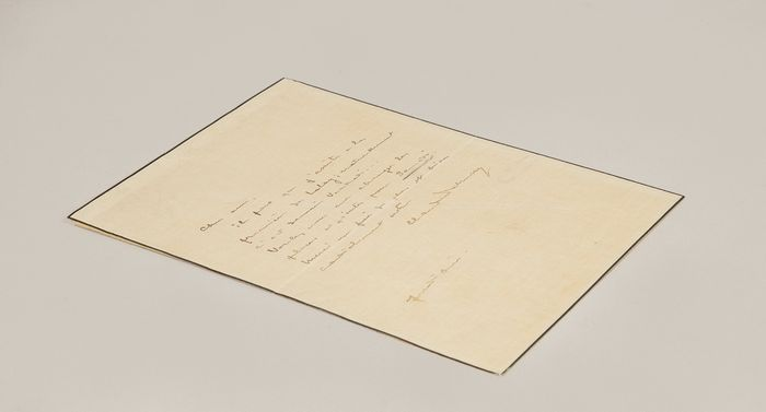 Claude Debussy - Autograph letter signed in full - 1910
