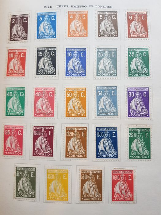 Portugal 1853/1985 - Collection of stamps