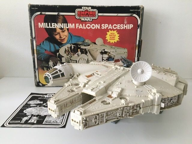 Star Wars - The Empire Strikes Back - Palitoy - Astronave vintage - 1980 - Millennium Falcon