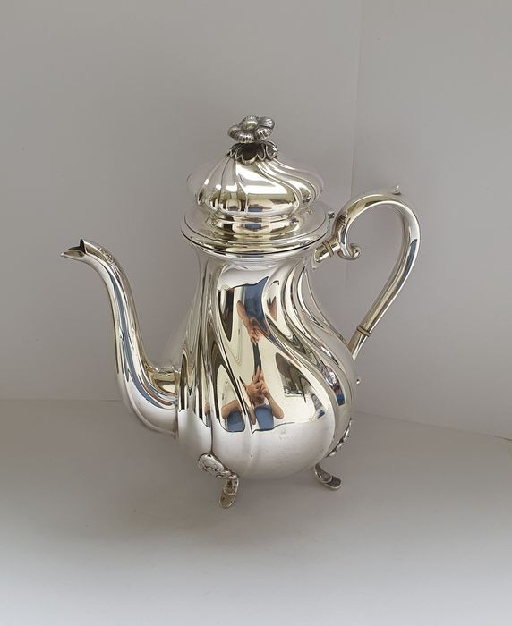 Carl Cohr, Denmark - Teapot - Silver plated