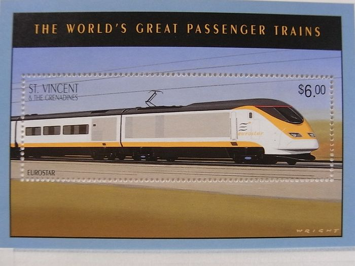 Mondo 1950/2012 - Huge topical collection with trains & railways.