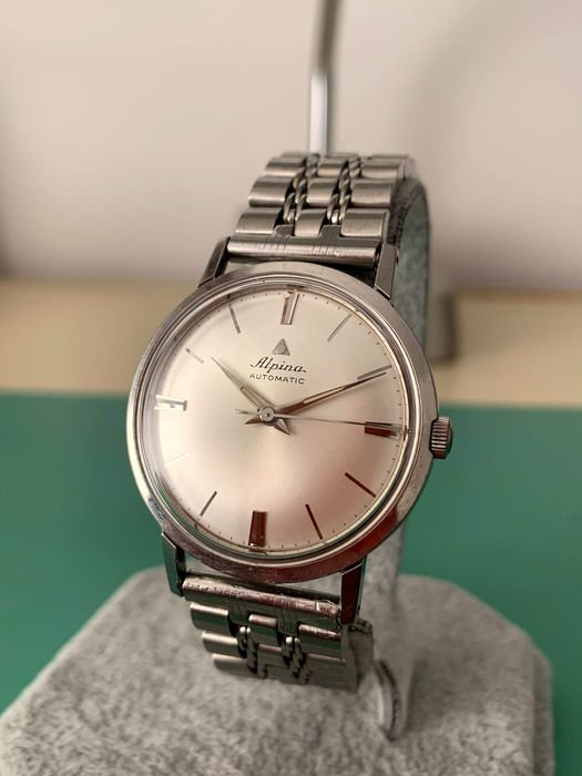 "Alpina - Automatic - ""NO RESERVE PRICE"" - Men - 1970-1979"